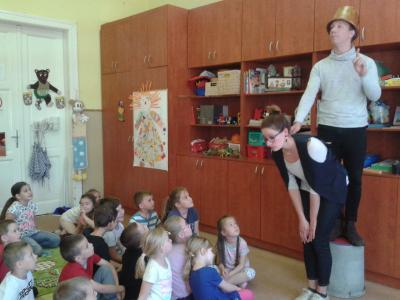 Drámafoglalkozás a Mosolyvár Óvodában 2018. május 22.