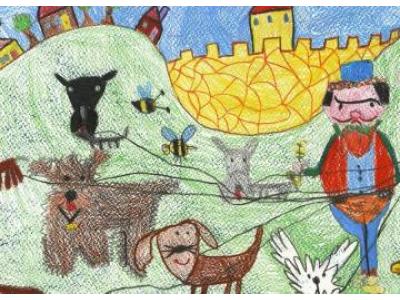 Fekete Júlia (6 éves) - Győrújfalui Vadvirág Óvoda és Bölcsőde Felkészítő pedagógus: Fabsich Andrea