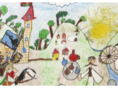 Erdélyi Nóra (6 éves) - Győrújfalui Vadvirág Óvoda és Bölcsőde Felkészítő pedagógus: Fabsich Andrea