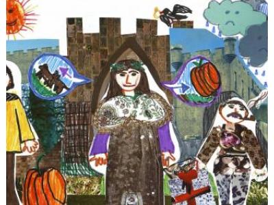 Mátyás király emlékére meghirdetett, a XVIII. Győri Könyvszalonhoz kapcsolódó rajzpályázat díjazottjai 2018