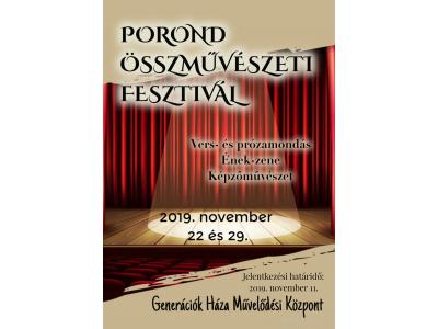 Porond plakát 2019