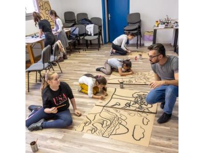Képzőművészeti workshop