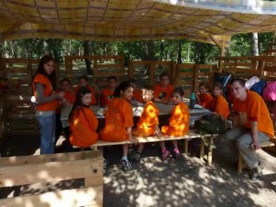 Hunyadi Mátyás apródjai építkező napközis tábor 2015