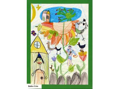 Égig érő paszuly rajzpályázat nyertesei Könyvszalon 2016