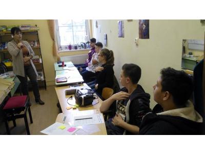 Okosodó Kovács Erika vezetésével 8. osztály