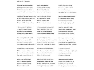 Széll Veronika verse